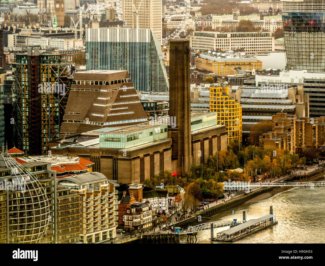 Tate Modern, London, UK. - Stock Image