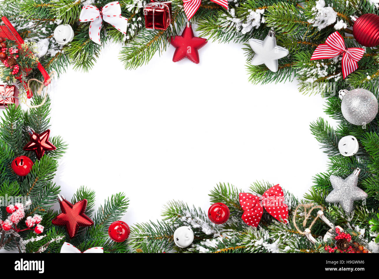 Christmas Frame Underfontanacountryinncom