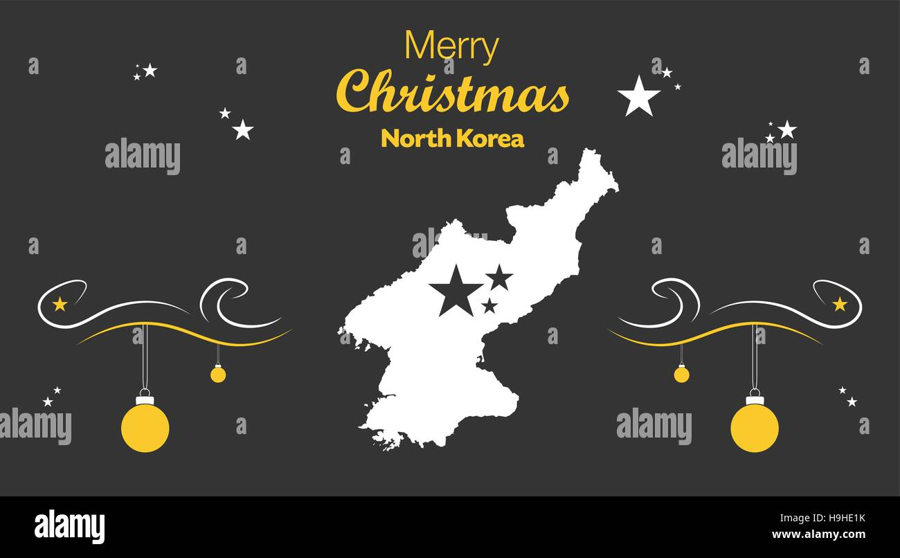 Map north korea isolated stock photos map north korea isolated merry christmas illustration theme with map of north korea stock image gumiabroncs Image collections