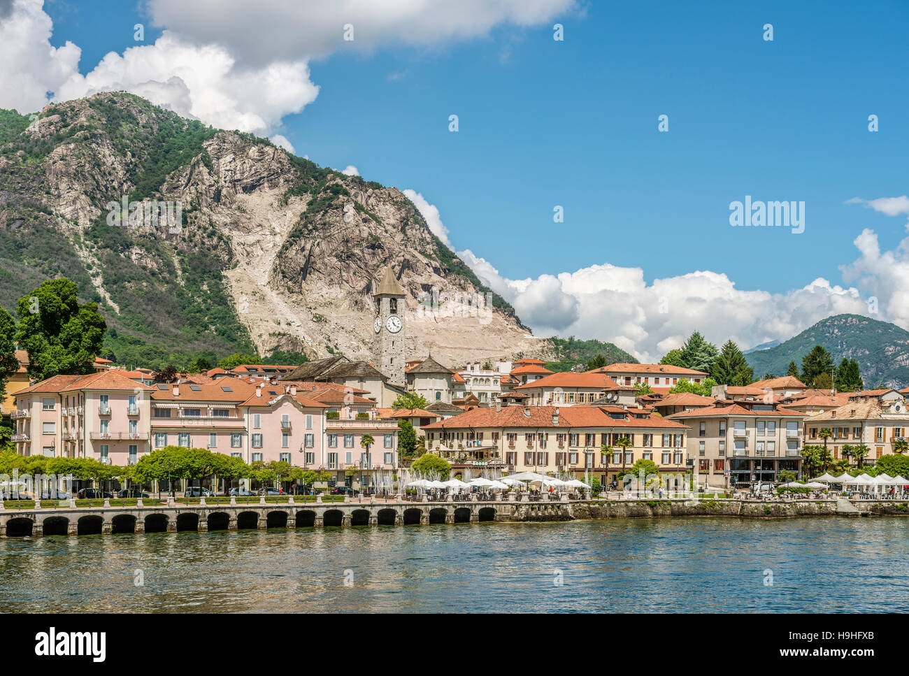 baveno lago maggiore italy stock photos baveno lago. Black Bedroom Furniture Sets. Home Design Ideas