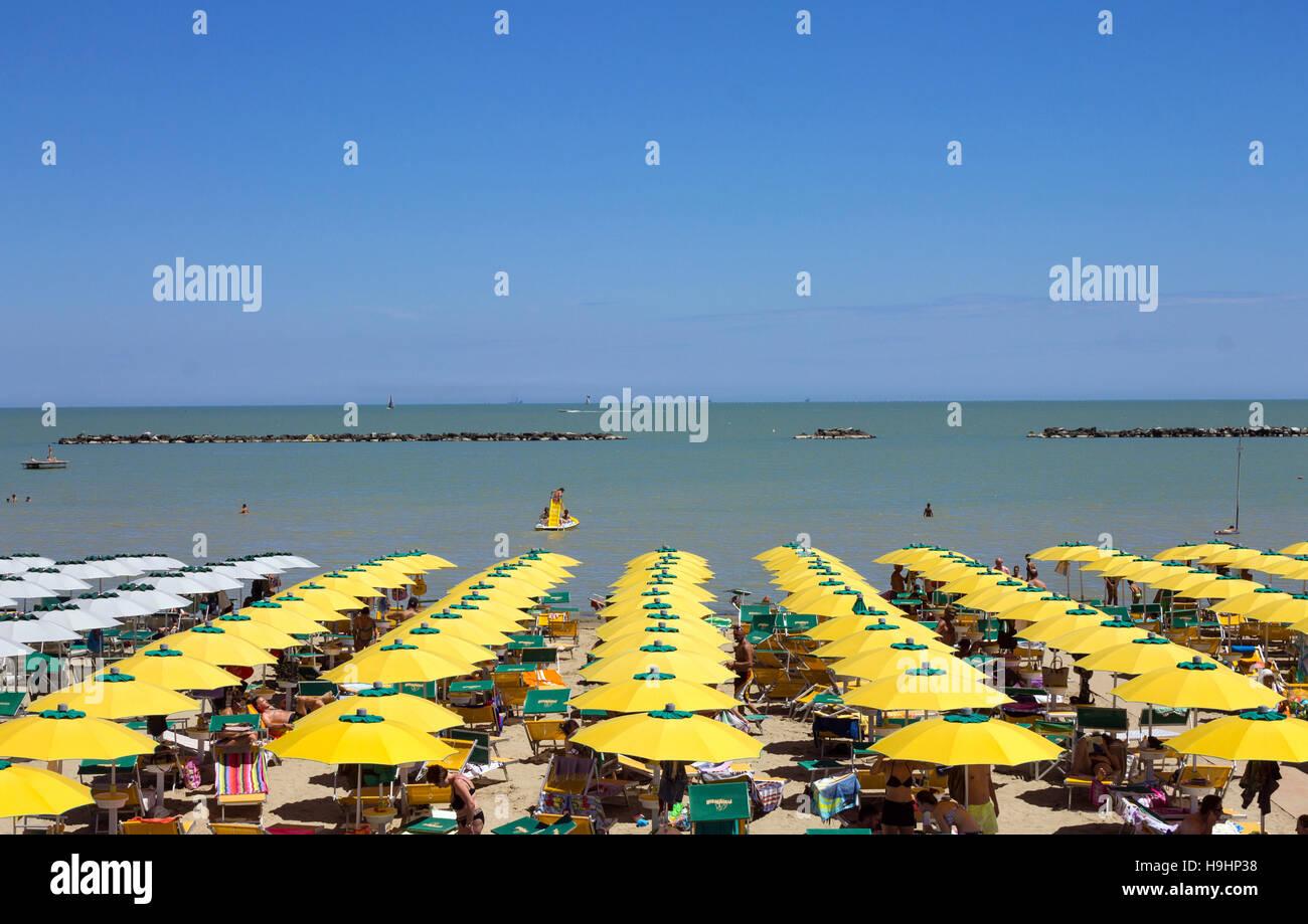 Cesenatico Beach Stock Photos & Cesenatico Beach Stock Images - Alamy