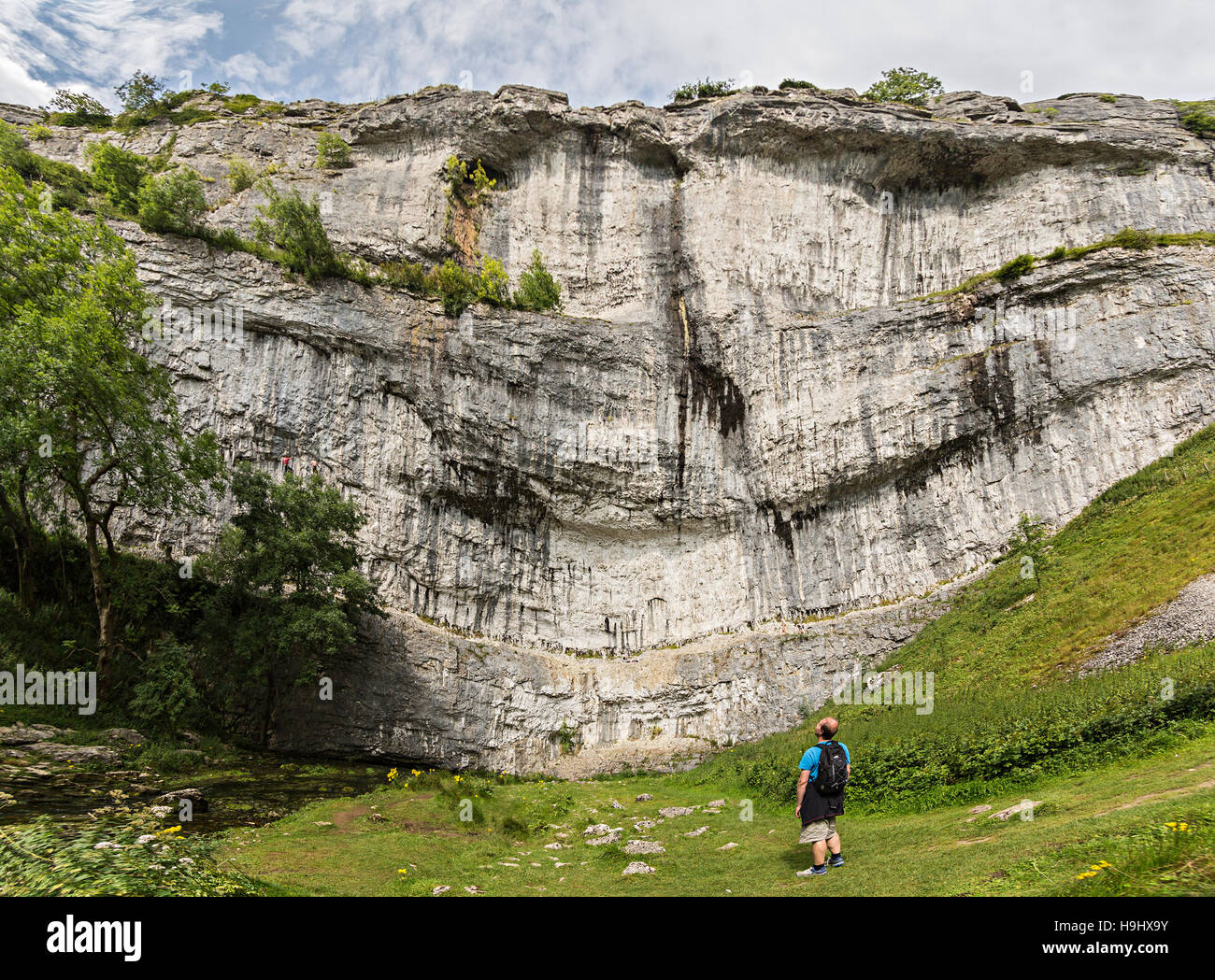 Malham Cove, Yorkshire Dales, UK - Stock Image