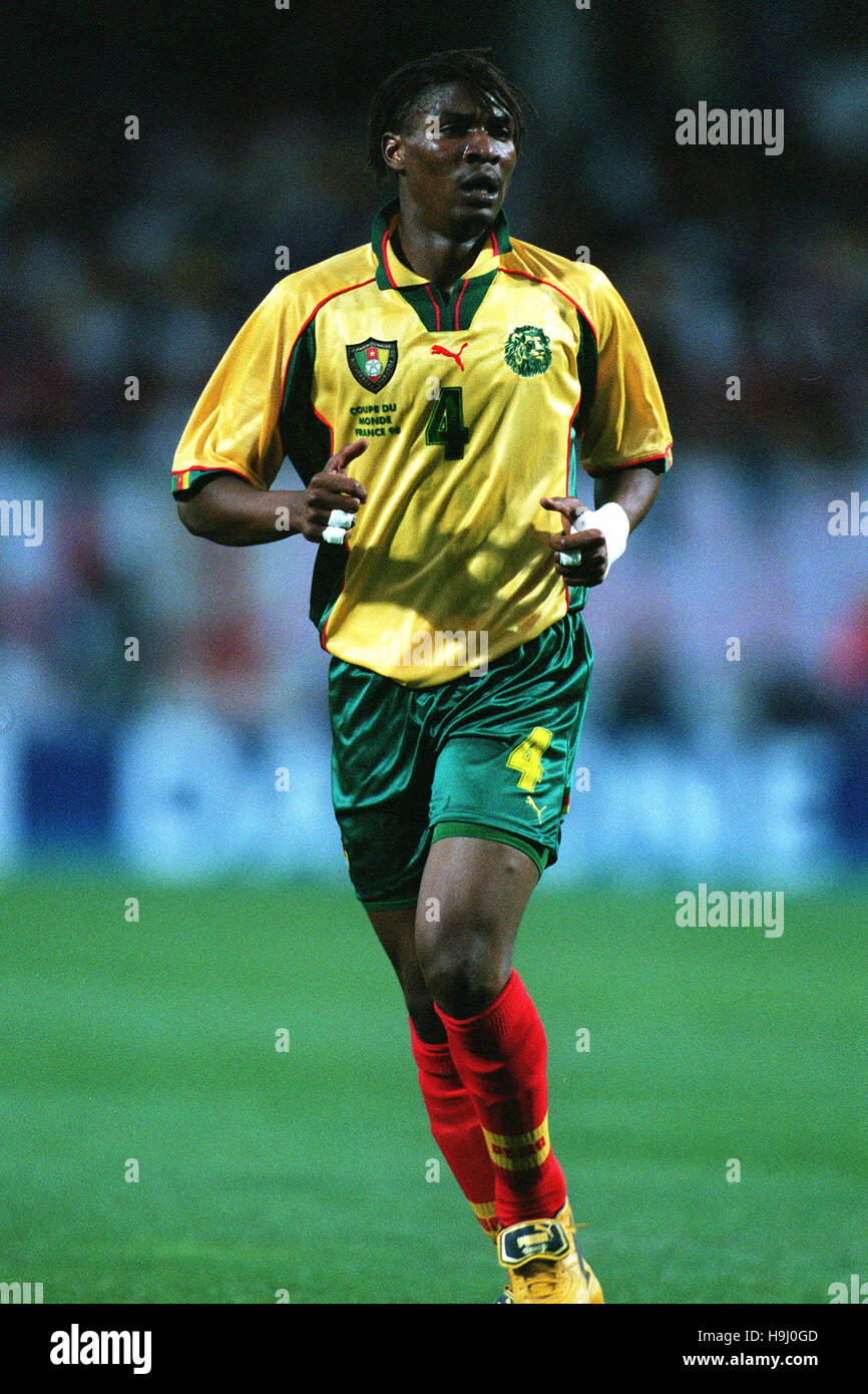 RIGOBERT SONG CAMEROON 22 June 1998 - Stock Image