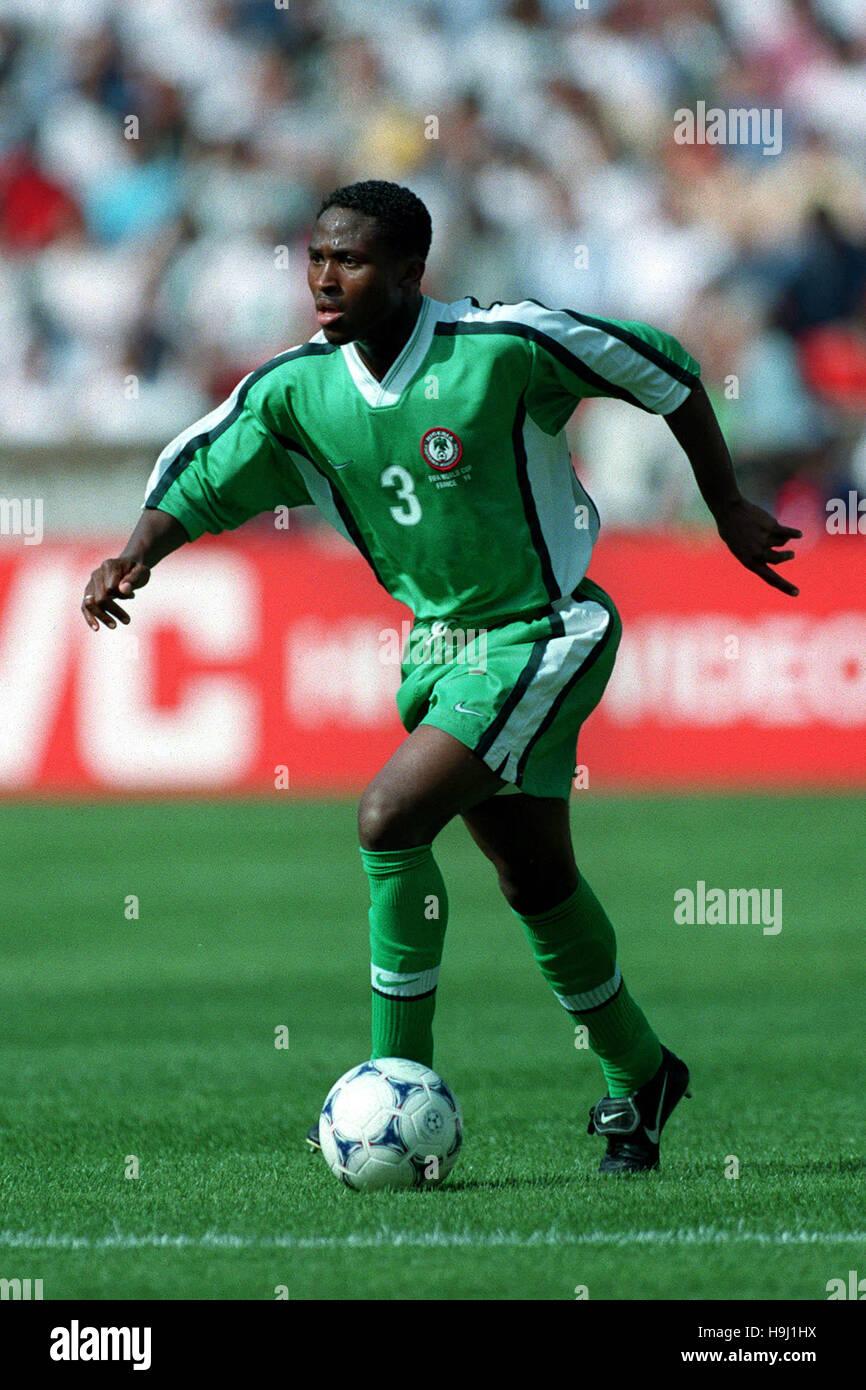 CELESTINE BABAYARO NIGERIA & CHELSEA FC 30 June 1998 - Stock Image