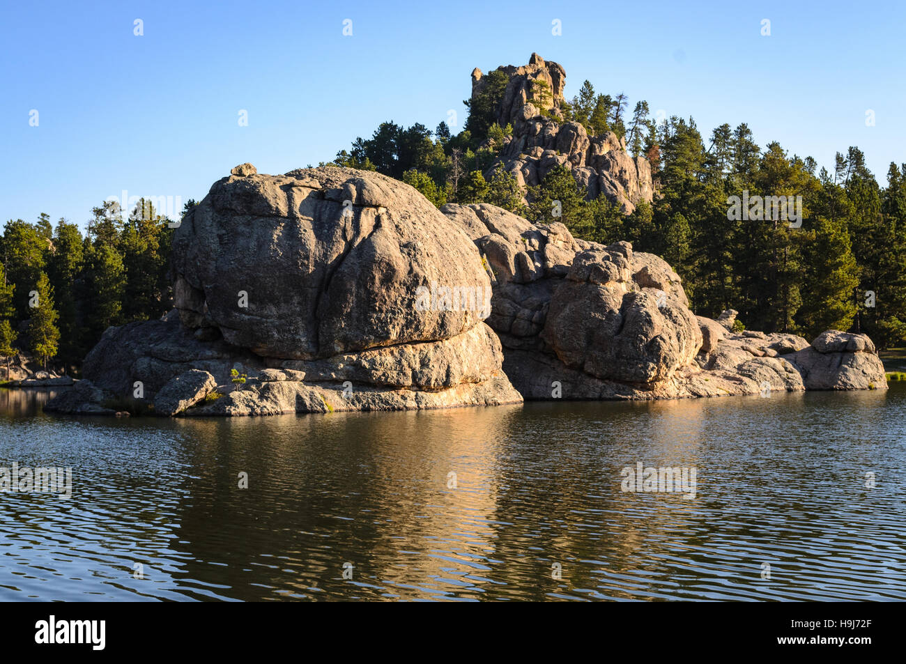 Sylvan Lake - Stock Image