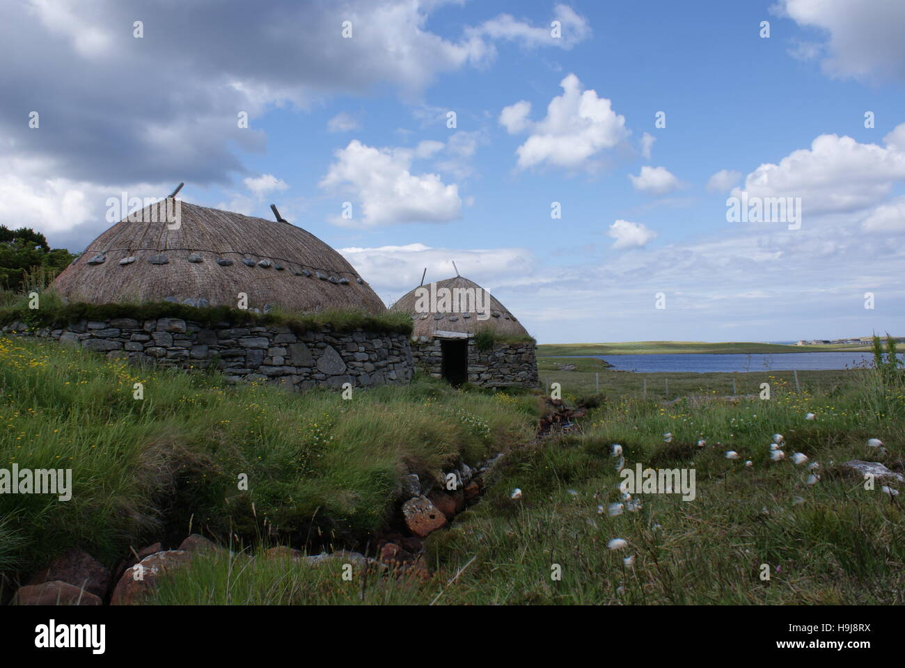 Norse Mill on the Isle of Lewis - Stock Image