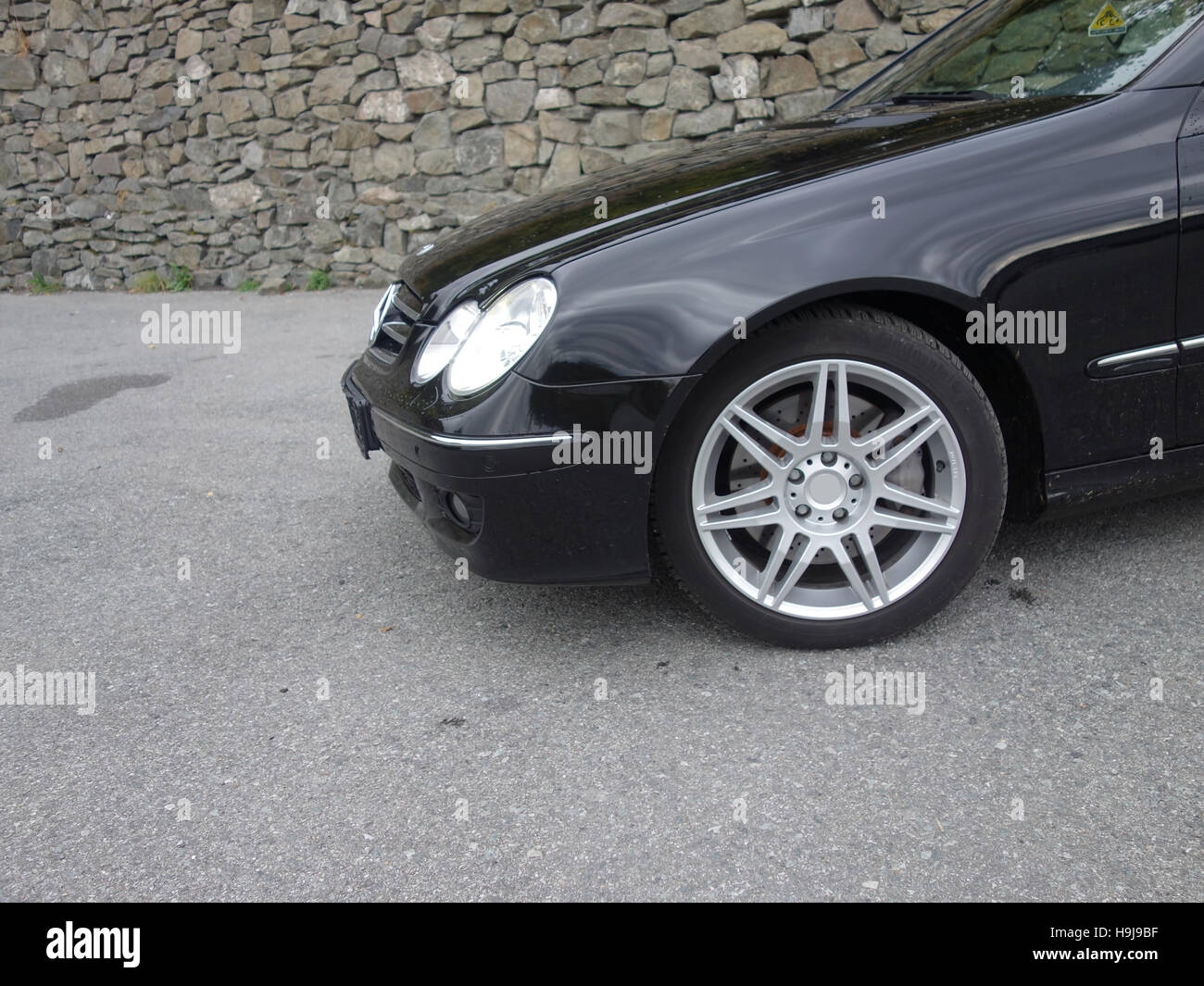 mercedes benz clk w209 left side fender hood alloy wheels stock