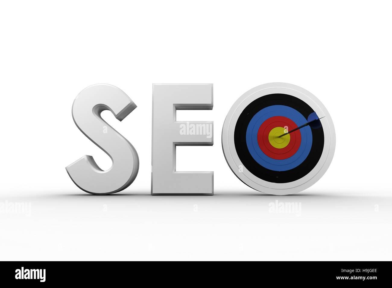 Illustrative image of SEO - Stock Image