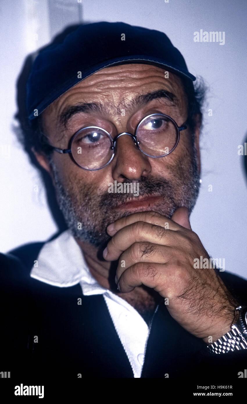 Lucio Dalla to 1993 (Bologna, 4th March – Montreux, 1° March 2012) Stock Photo