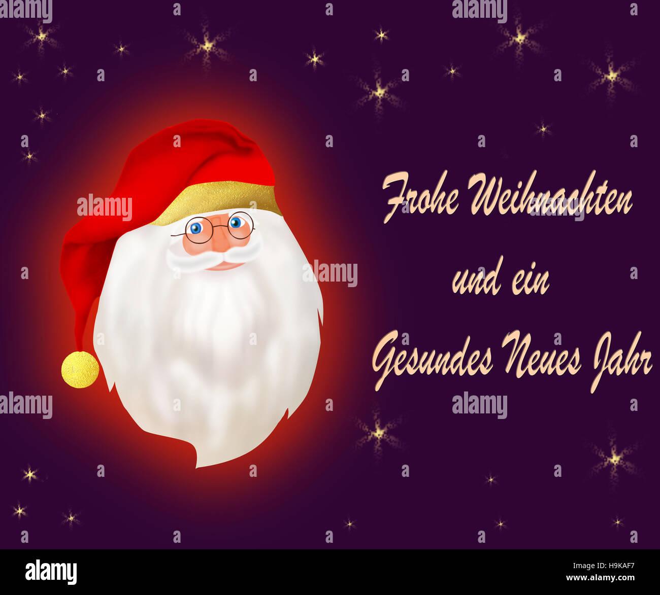 German greeting card for christmas stock photo 126429835 alamy german greeting card for christmas m4hsunfo