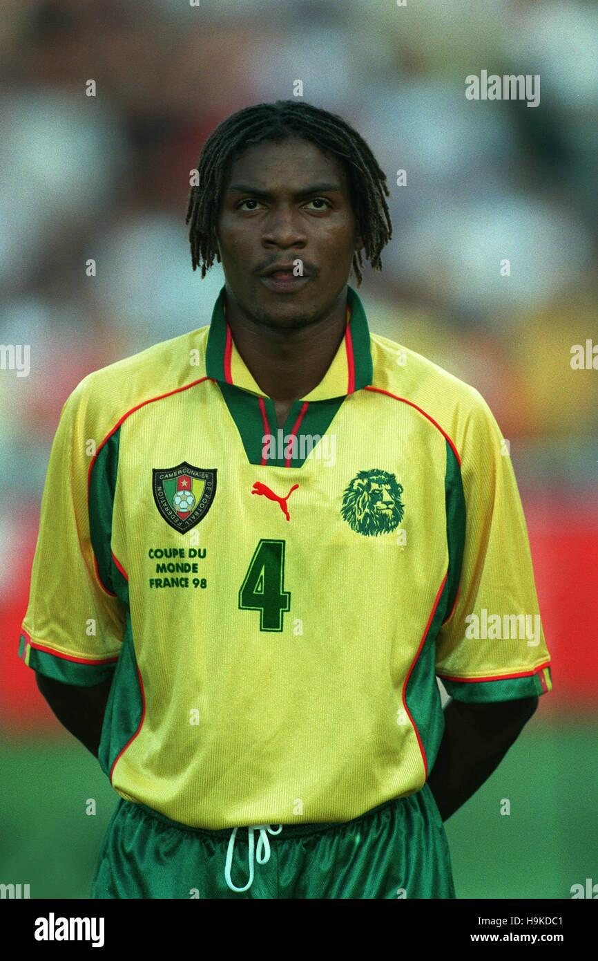 RIGOBERT SONG CAMEROON 03 July 1998 - Stock Image