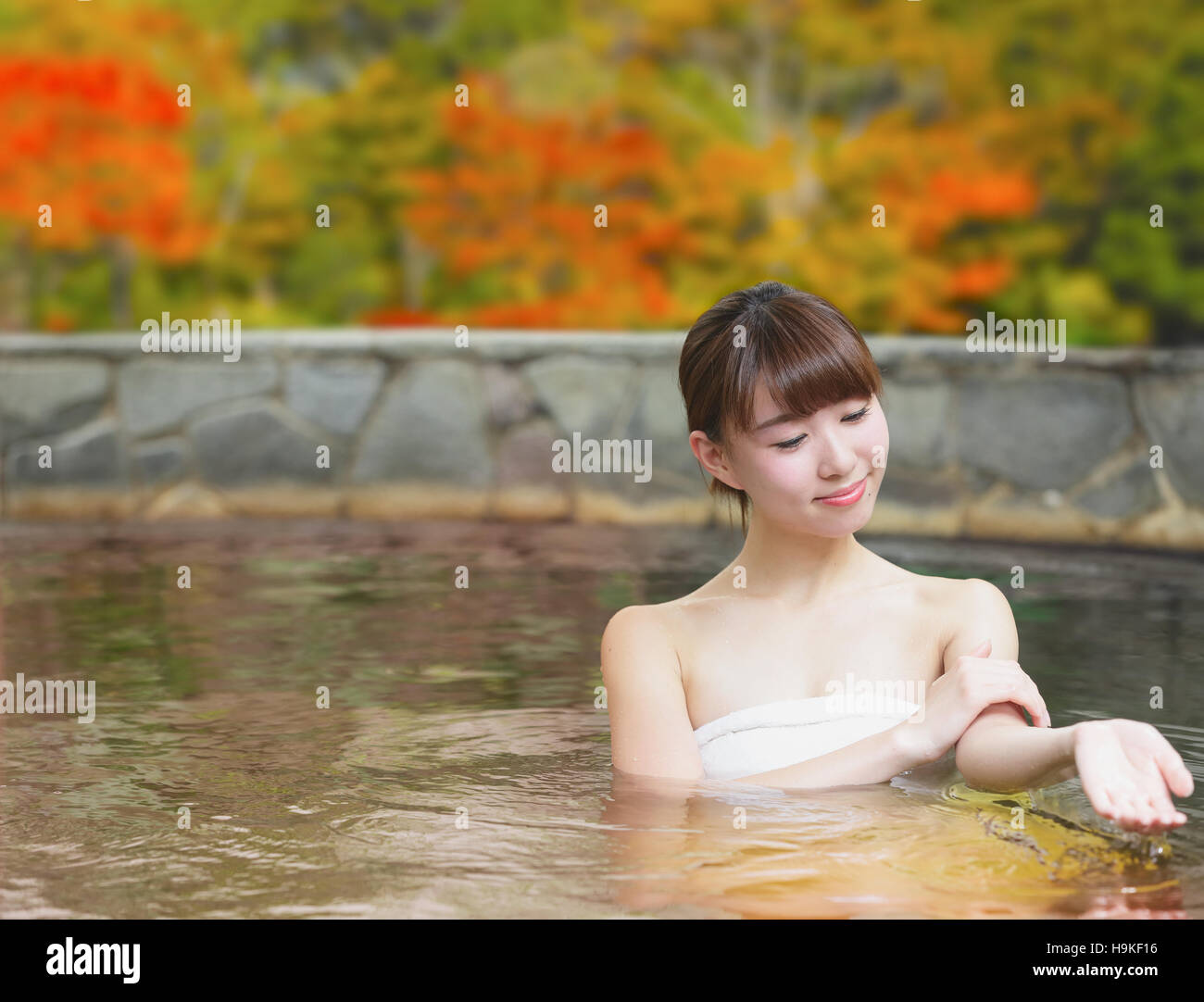 Bathing Girl Japanese
