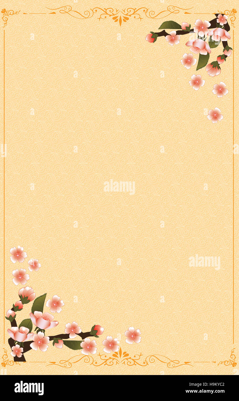 Background Greeting Card For Chinese Japanese New Year Also For