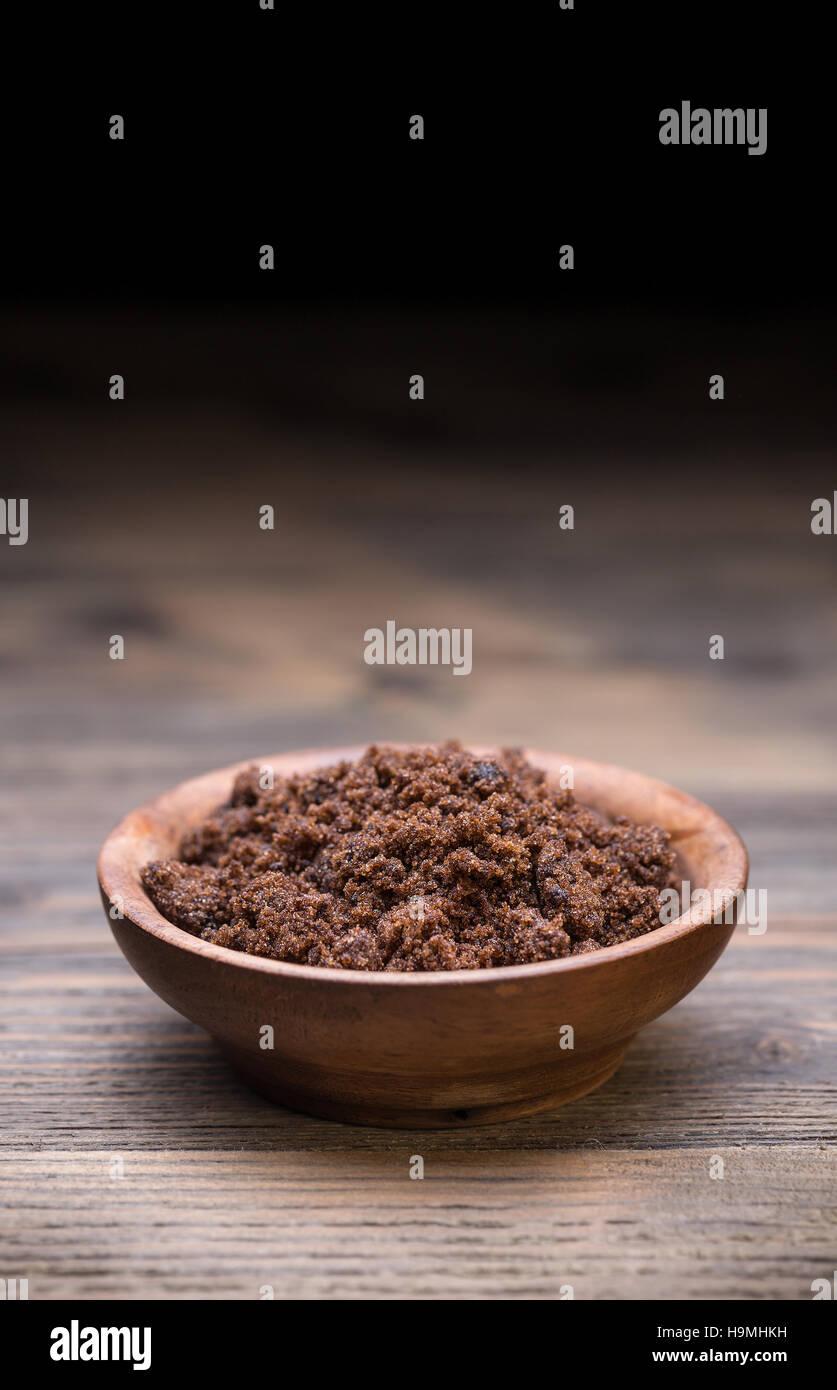 Muscovado sugar Stock Photo