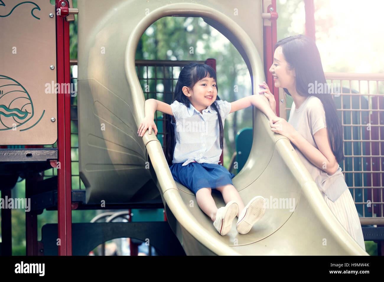 The little girl slide - Stock Image