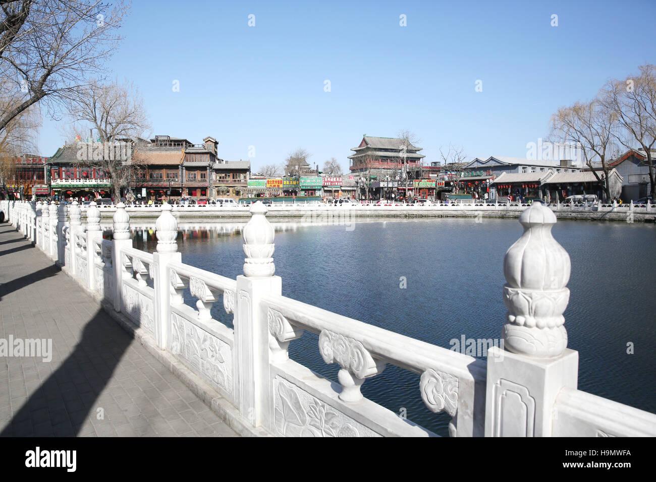 Beijing Shichahai - Stock Image