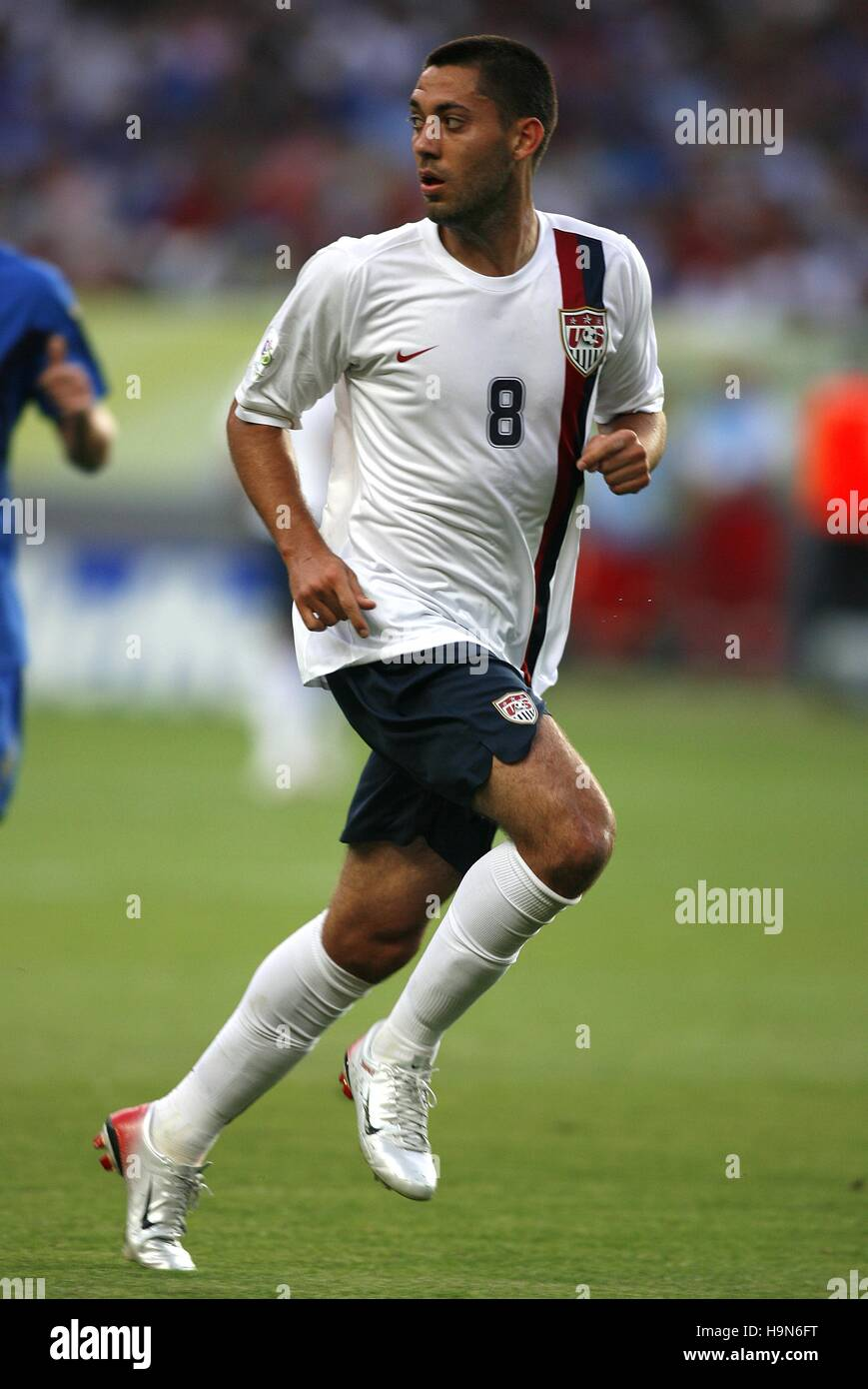 7a2da1eb0b0 CLINT DEMPSEY US   NEW ENGLAND REVOLUTION WORLD CUP KAISERSLAUTERN GERMANY  17 June 2006 - Stock