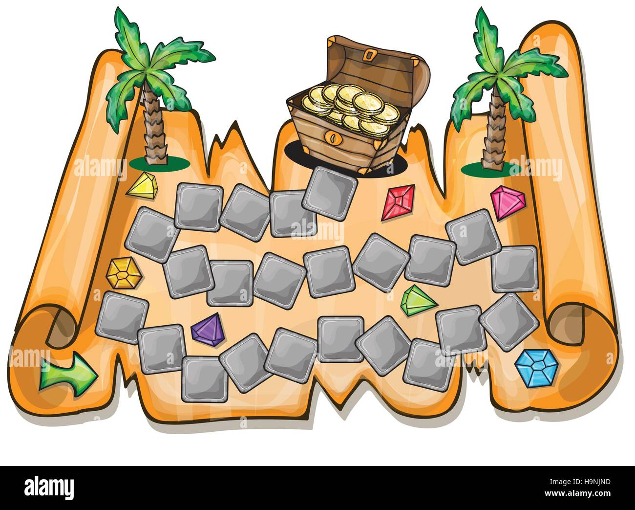 How to Make a Pirates Treasure Map for Children (with Pictures) | 1043x1300