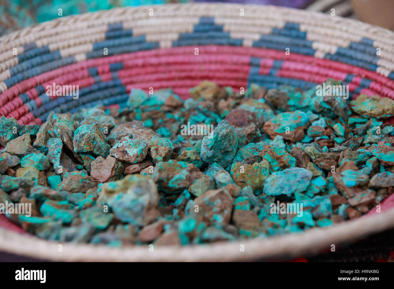 Turquoise  - New Mexico Stock Photo