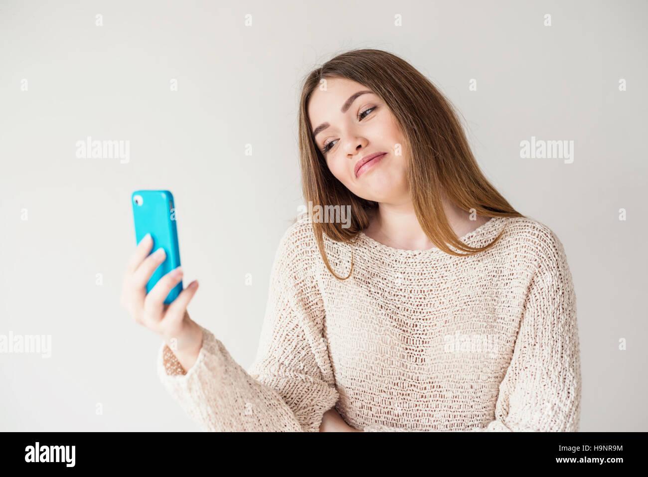 A skype girl with My Skype