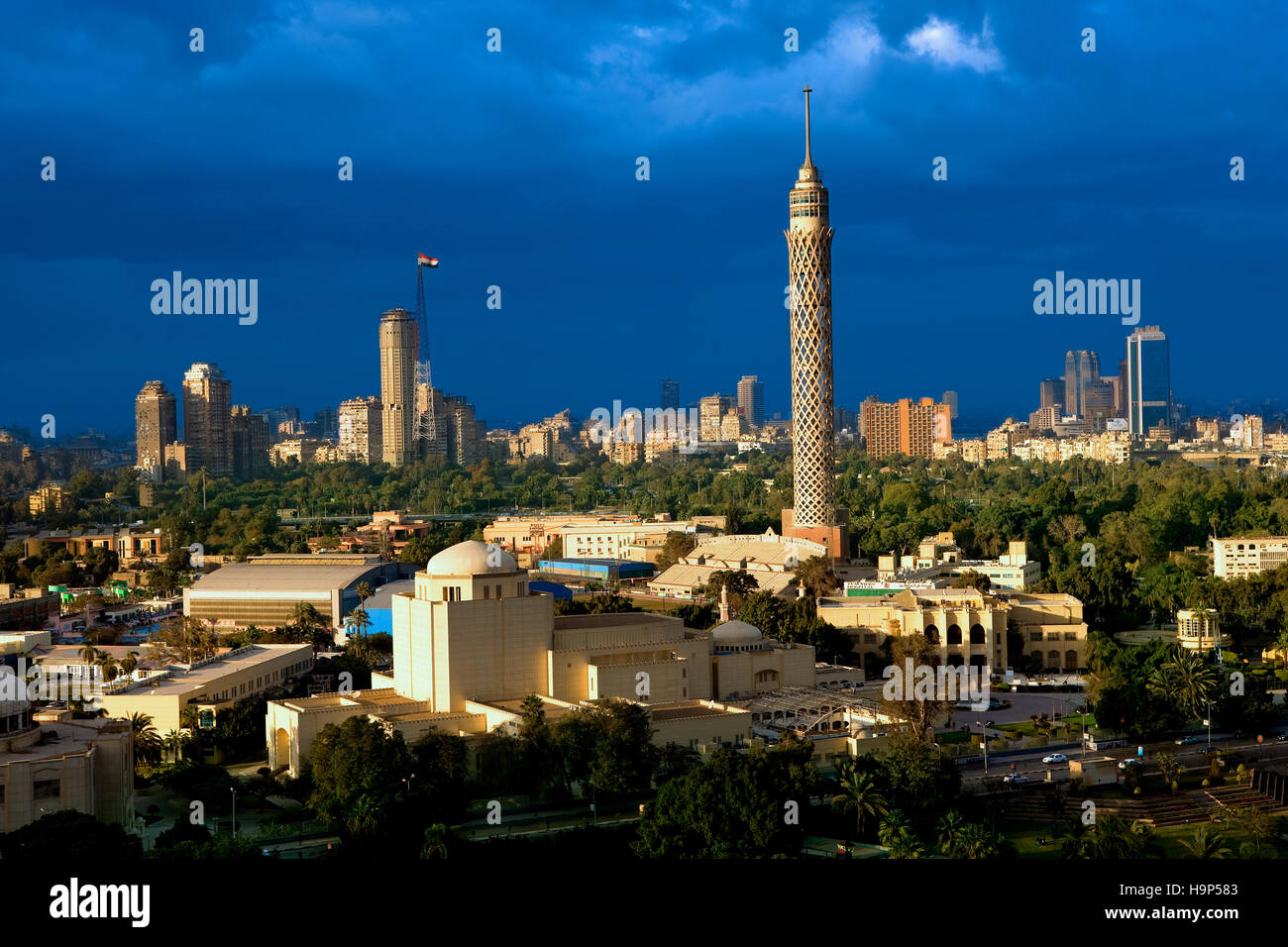 Cairo skyline , Egypt - Stock Image