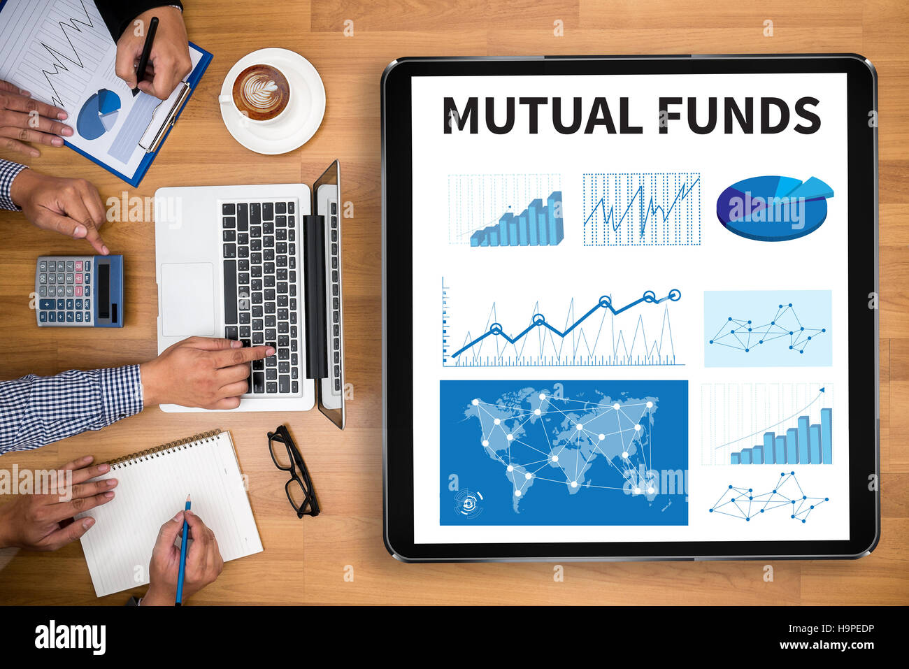 MUTUAL FUNDS - Stock Image