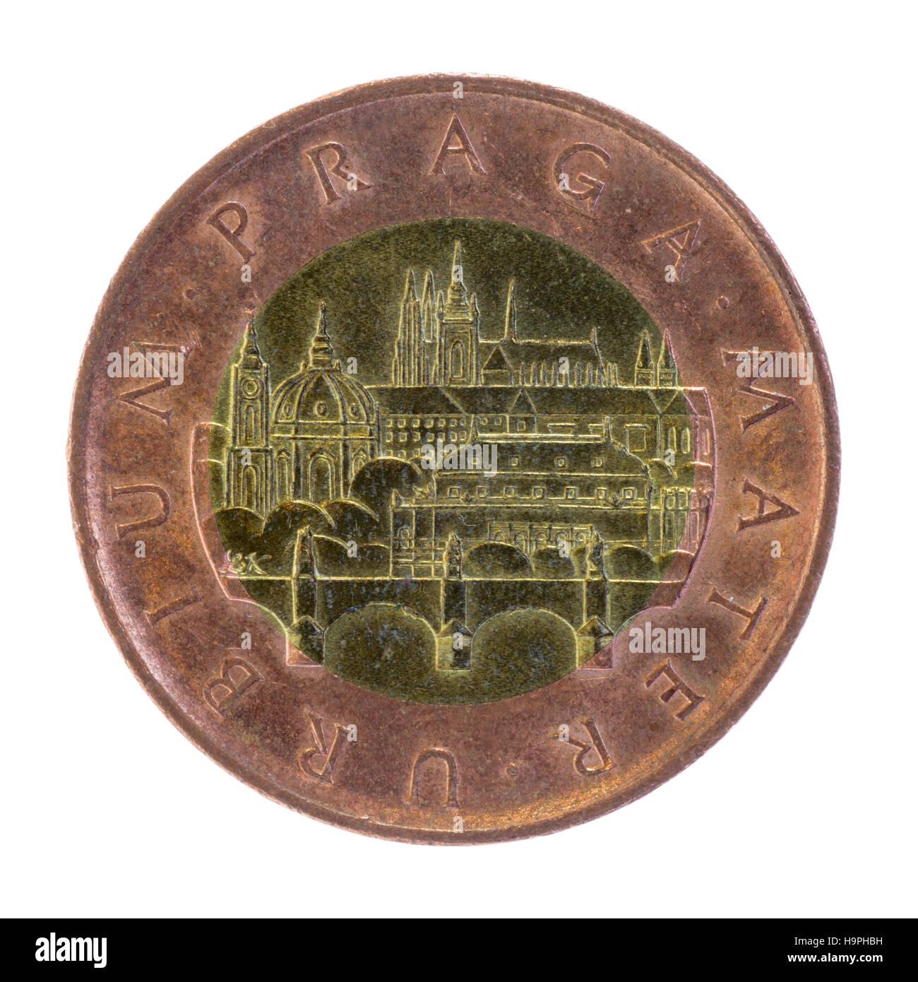 czech 50 koruna coin