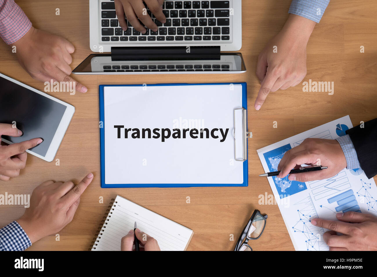 Transparency - Stock Image