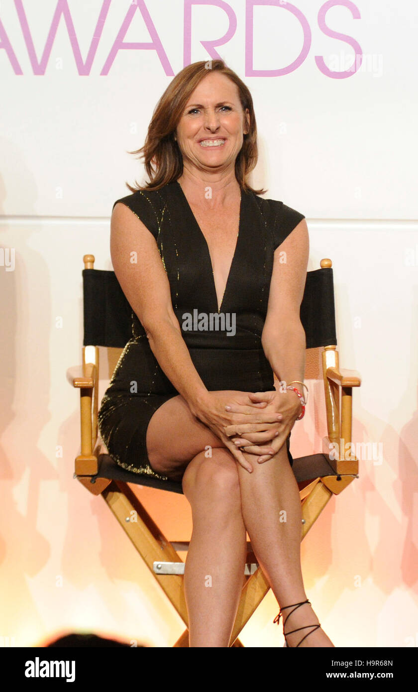 Molly Shannon attends the People's Choice Awards Nominations Press Conference at The Paley Center for Media - Stock Image
