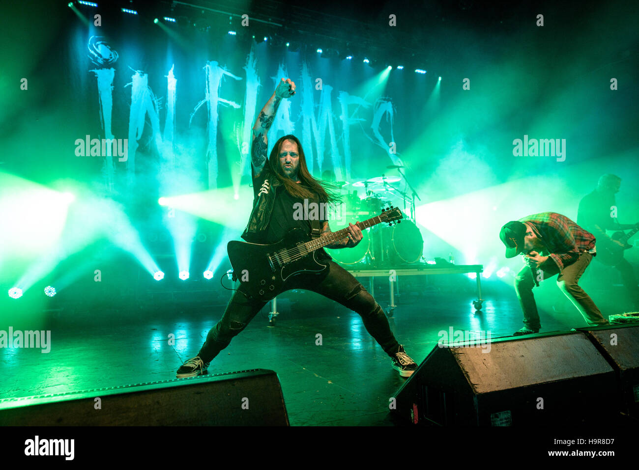 Toronto, Ontario, Canada. 23rd Nov, 2016. Swedish heavy metal band ...