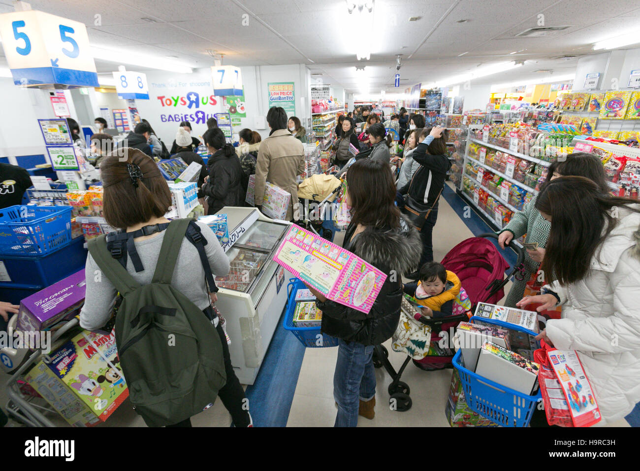 Tokyo Japan 25th Nov 2016 Customers Shop For Toys On Black Friday Stock Photo Alamy