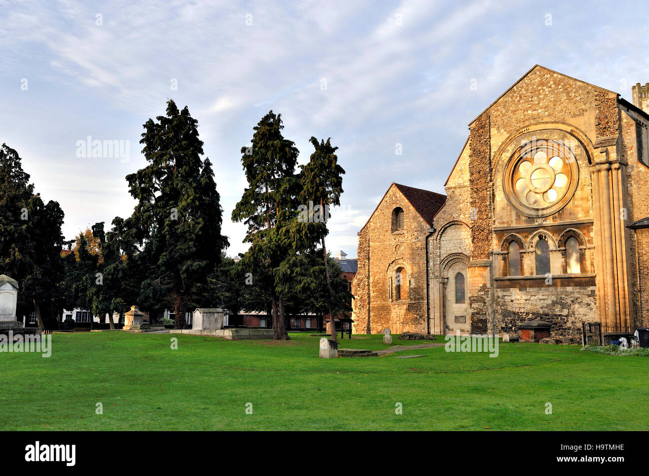 Waltham Abbey Church in Essex, United Kingdom, Europe - Stock Image