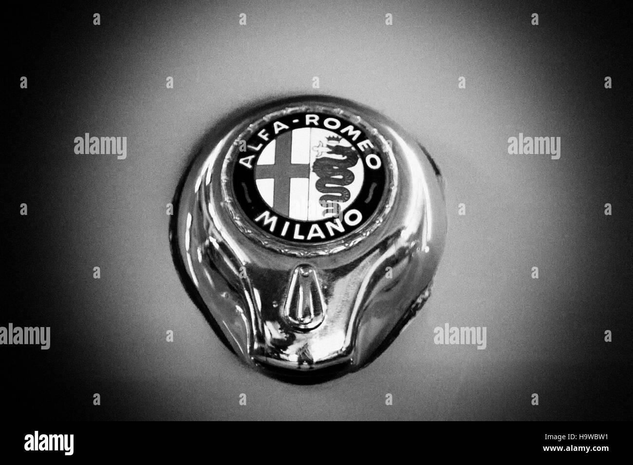Alfa Romeo Emblem Black And White Stock Photos Images Alamy