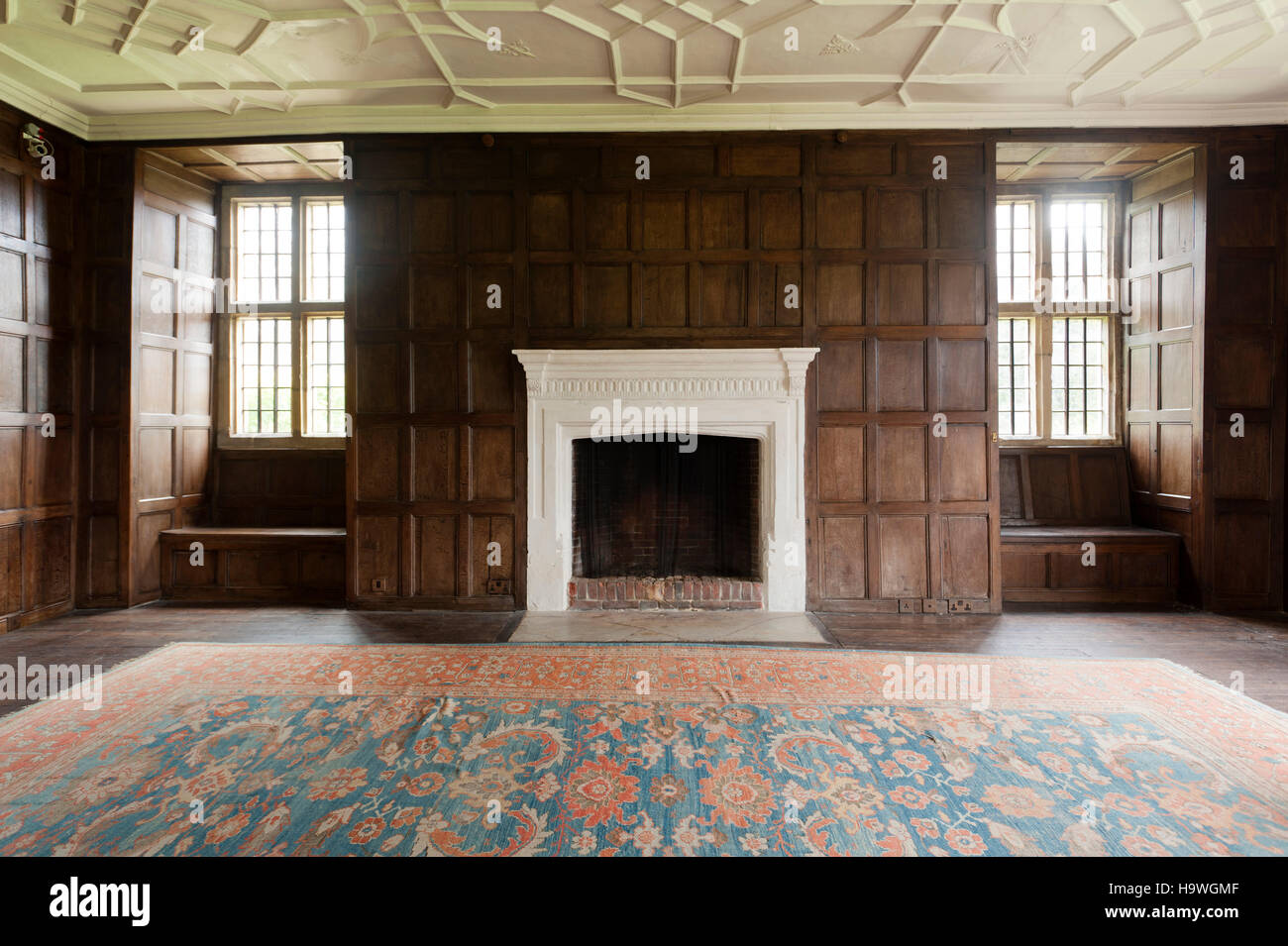 The Great Parlour at Avebury Manor, Wiltshire - Stock Image