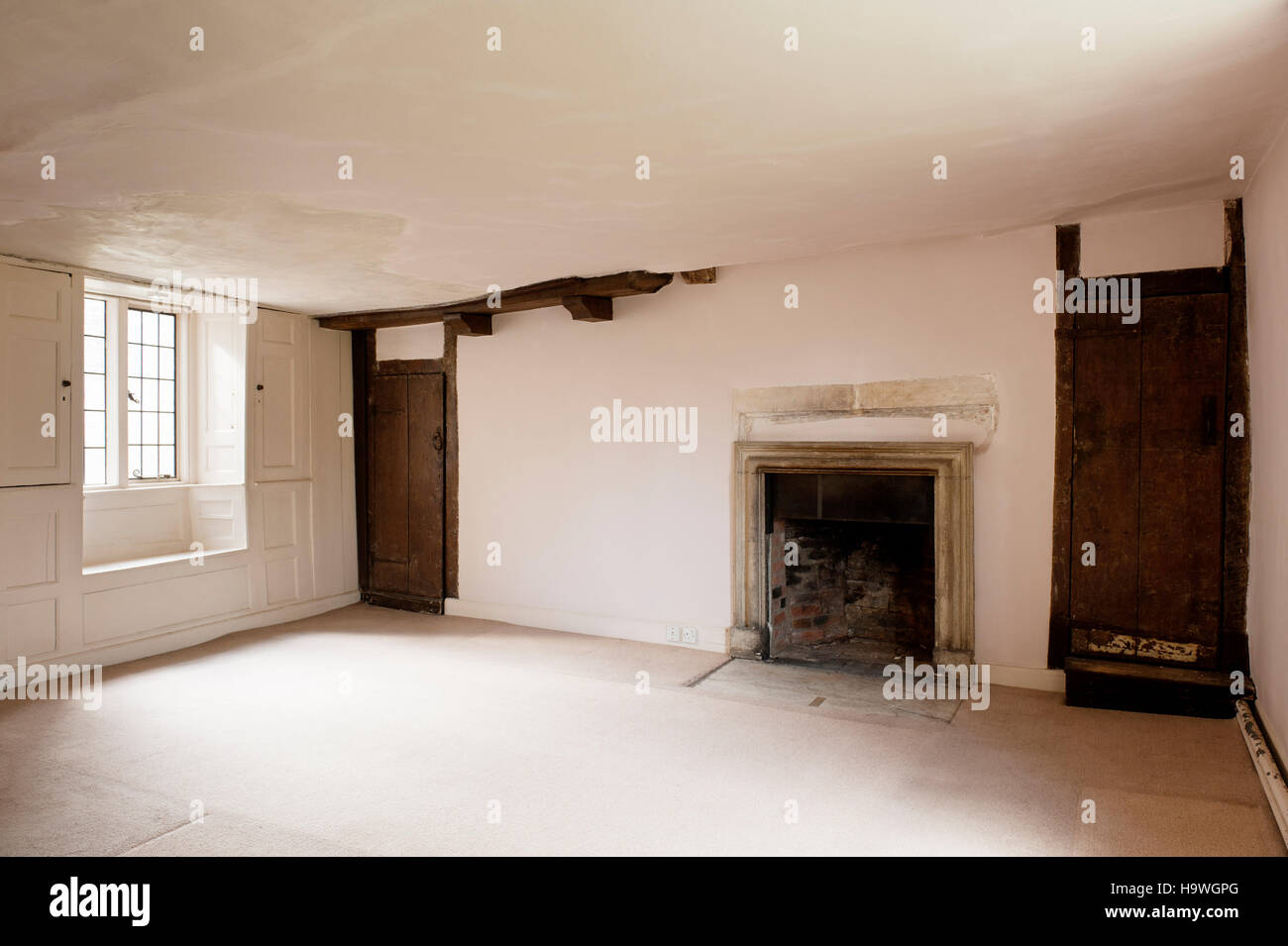 Room at Avebury Manor, Wiltshire, - Stock Image