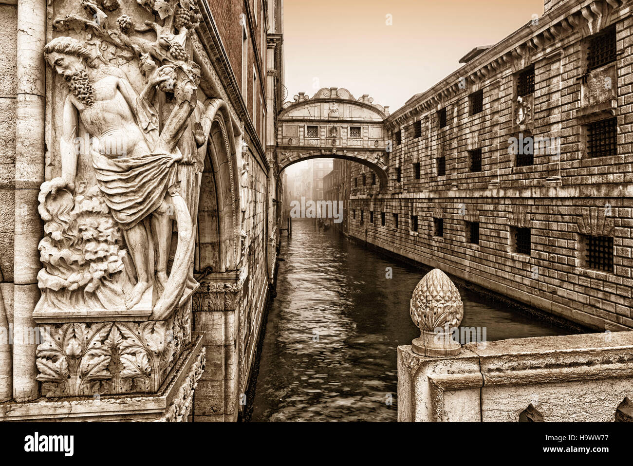 Bridge of Sighs, Venedig, Venezia, Venice, Italia, Europe, - Stock Image