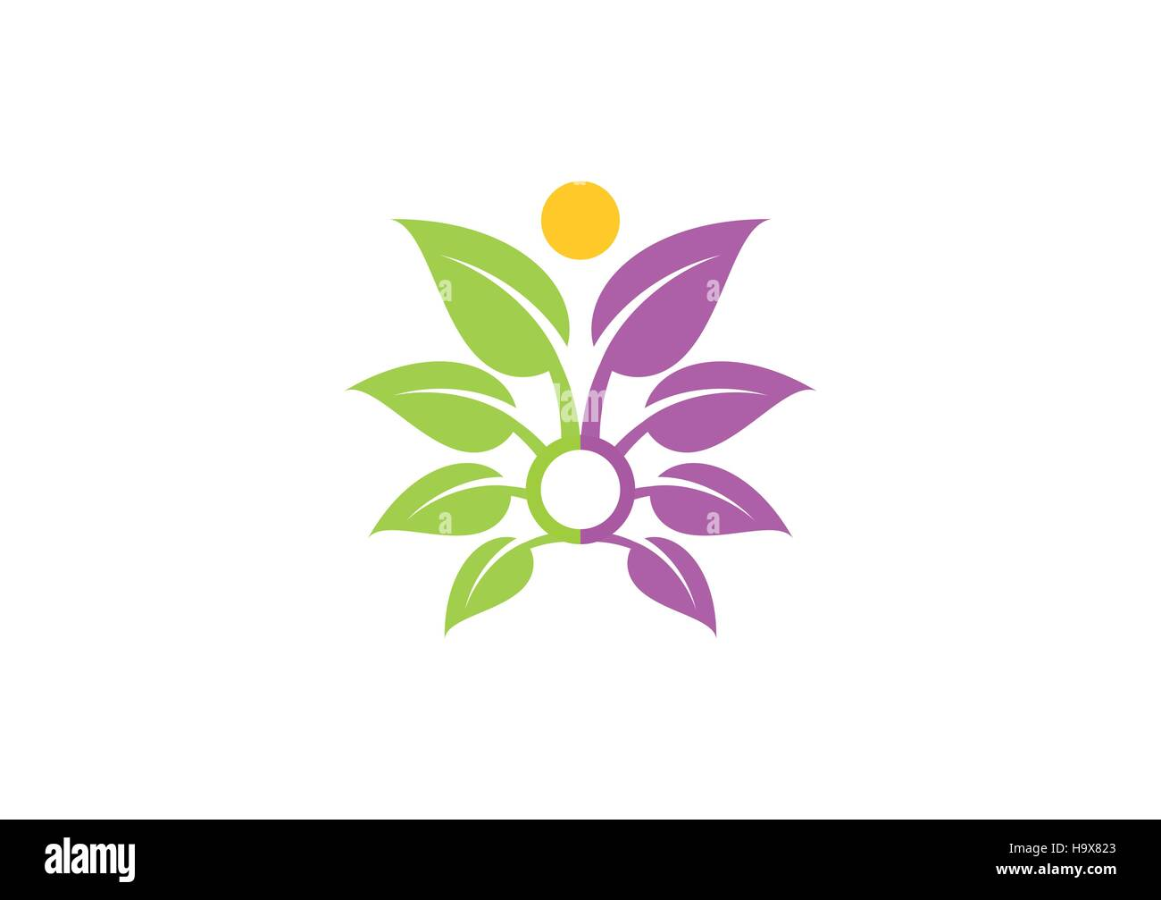 Beautiful flower symbol icon vector stock photos beautiful flower abstract tree plant beauty spa logo beautiful concept wellness human health symbol icon design vector izmirmasajfo