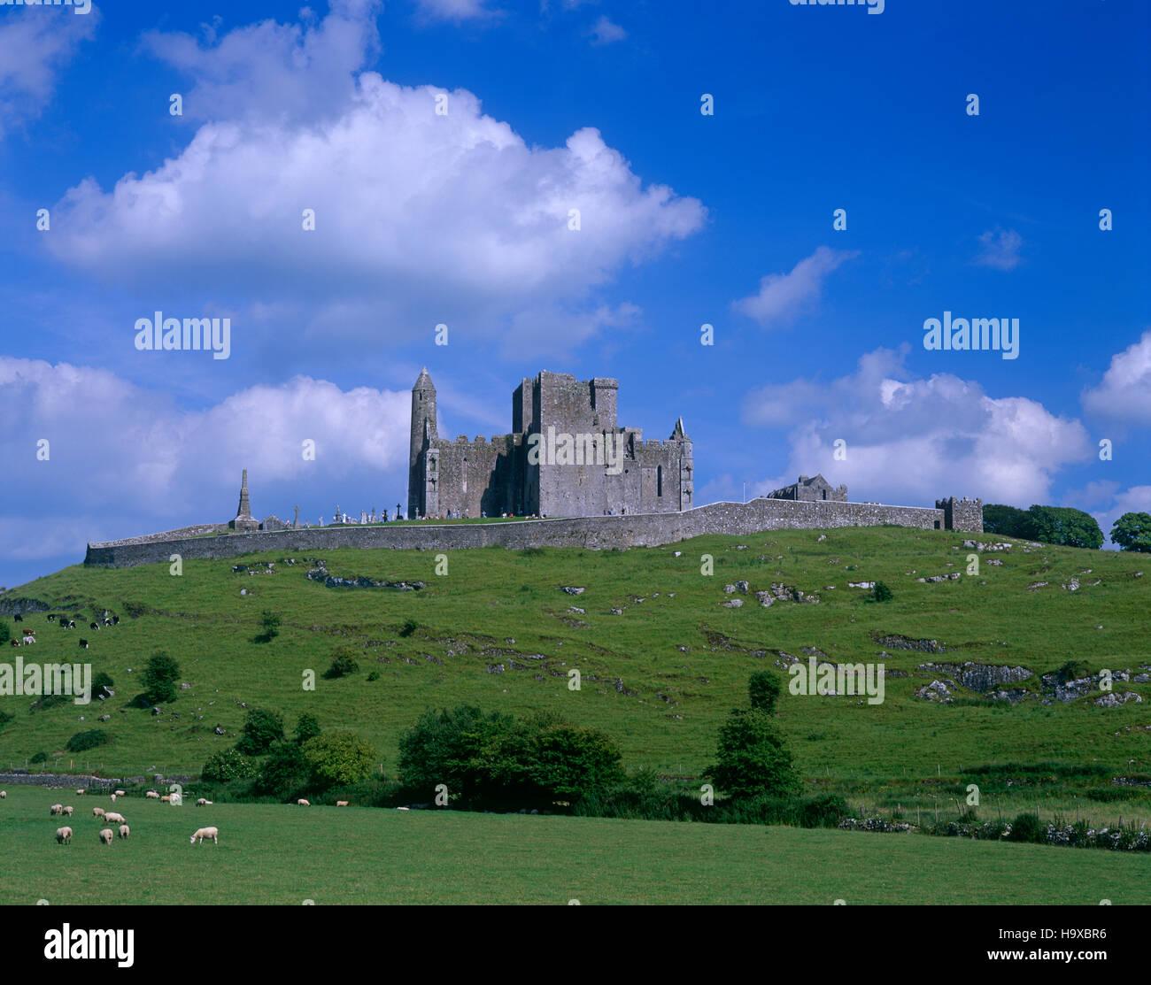 Rock of Cashel, County Tipperary, Ireland - Stock Image