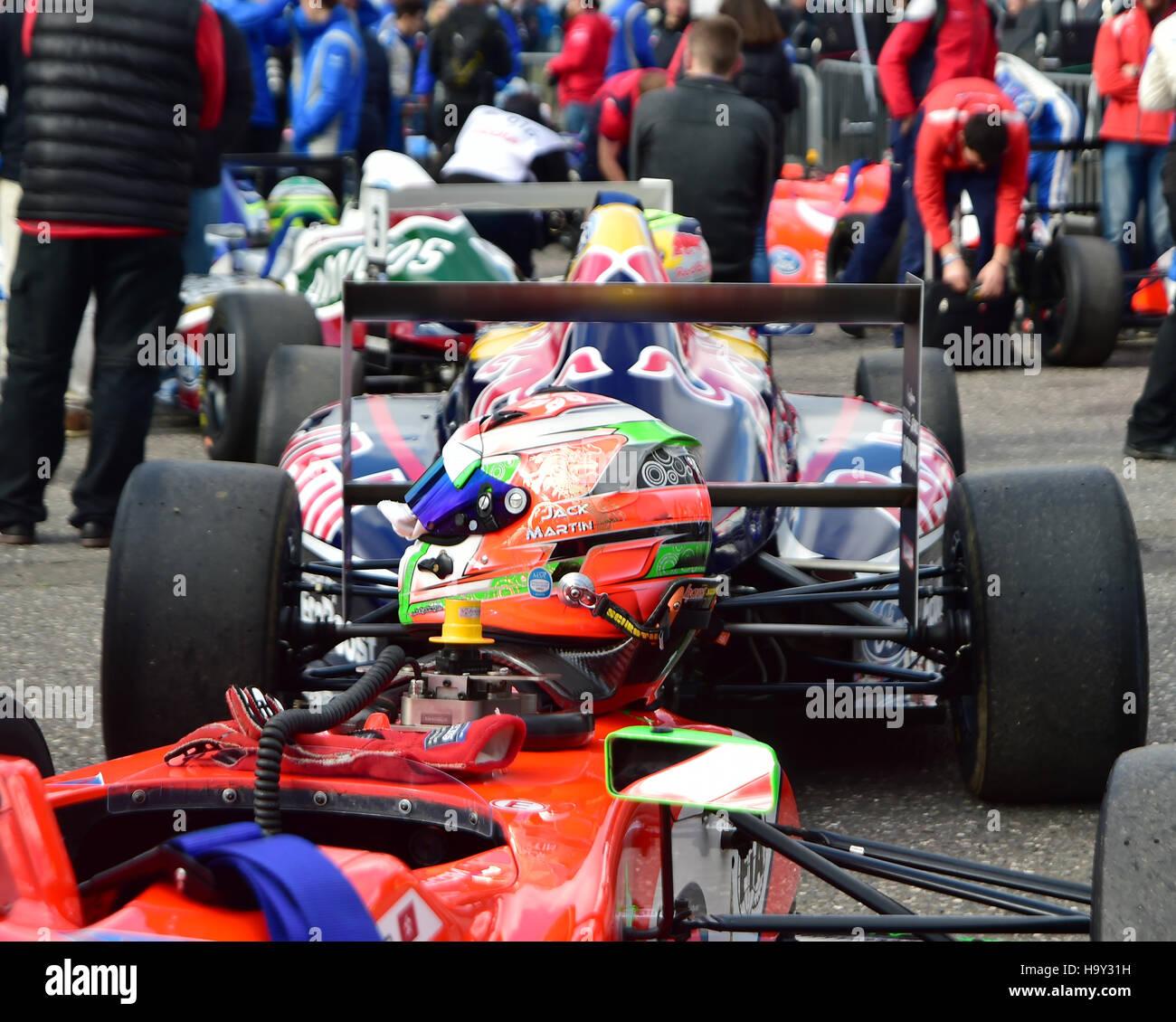 F4 British Championship British Touring Car Championship, BTCC Finale 2016   Finale 2016 Brands Hatch 2nd Oct, Kent, - Stock Image