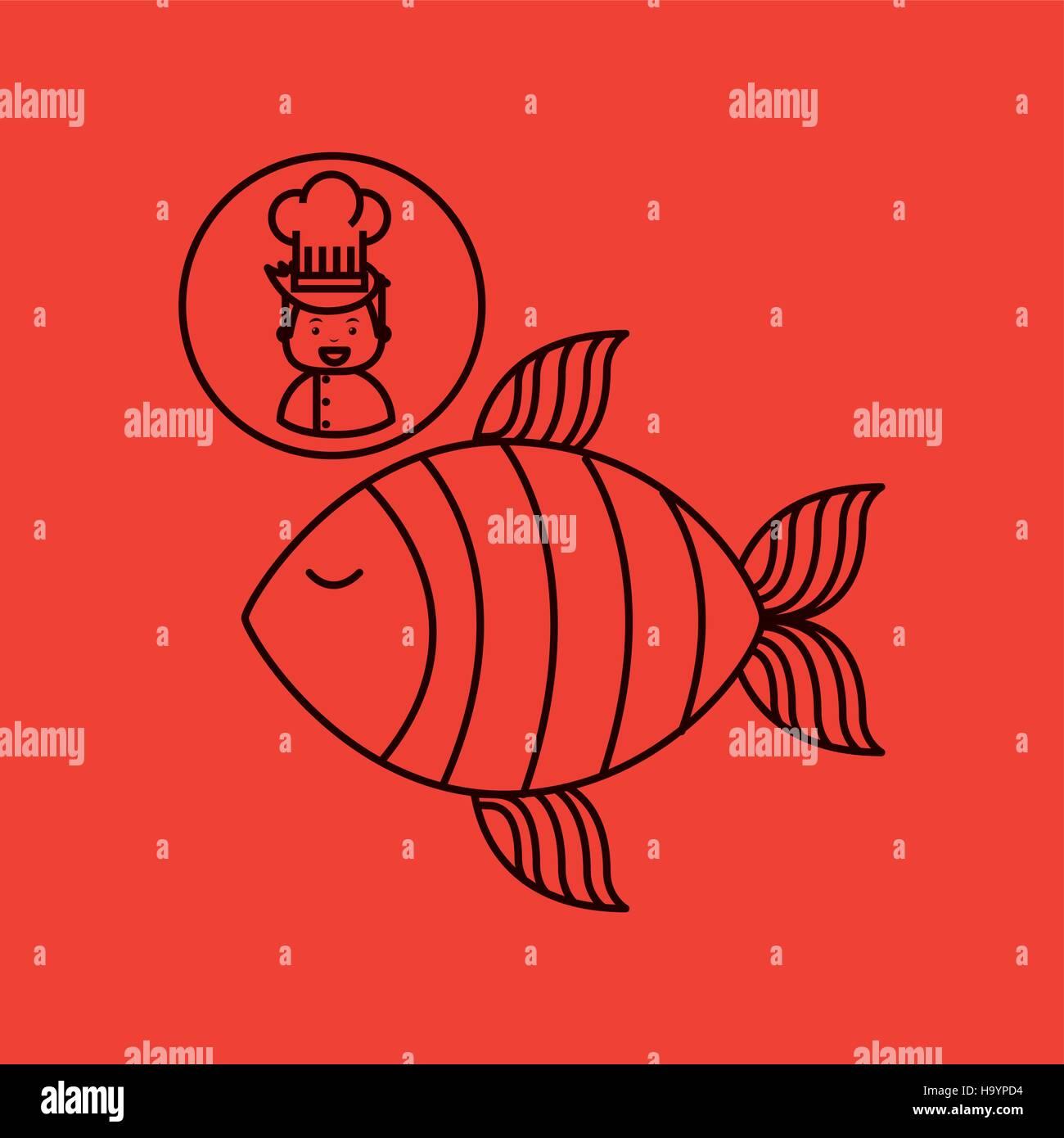 Cartoon Fish Head Stock Photos & Cartoon Fish Head Stock Images - Alamy