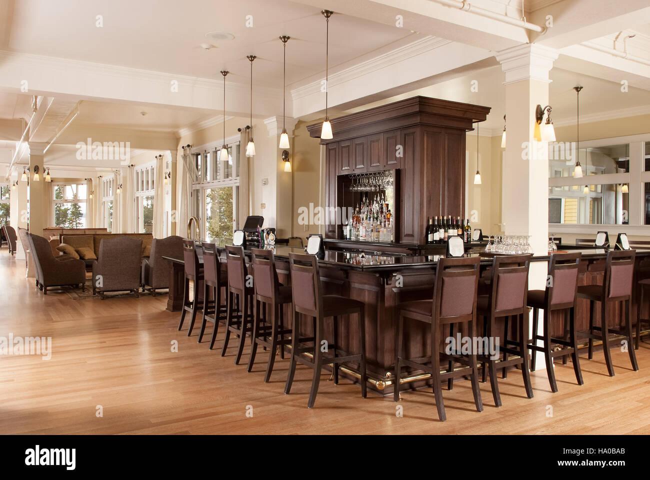 Yellowstonenps 17158001211 Lake Yellowstone Hotel Bar (3)   Stock Image