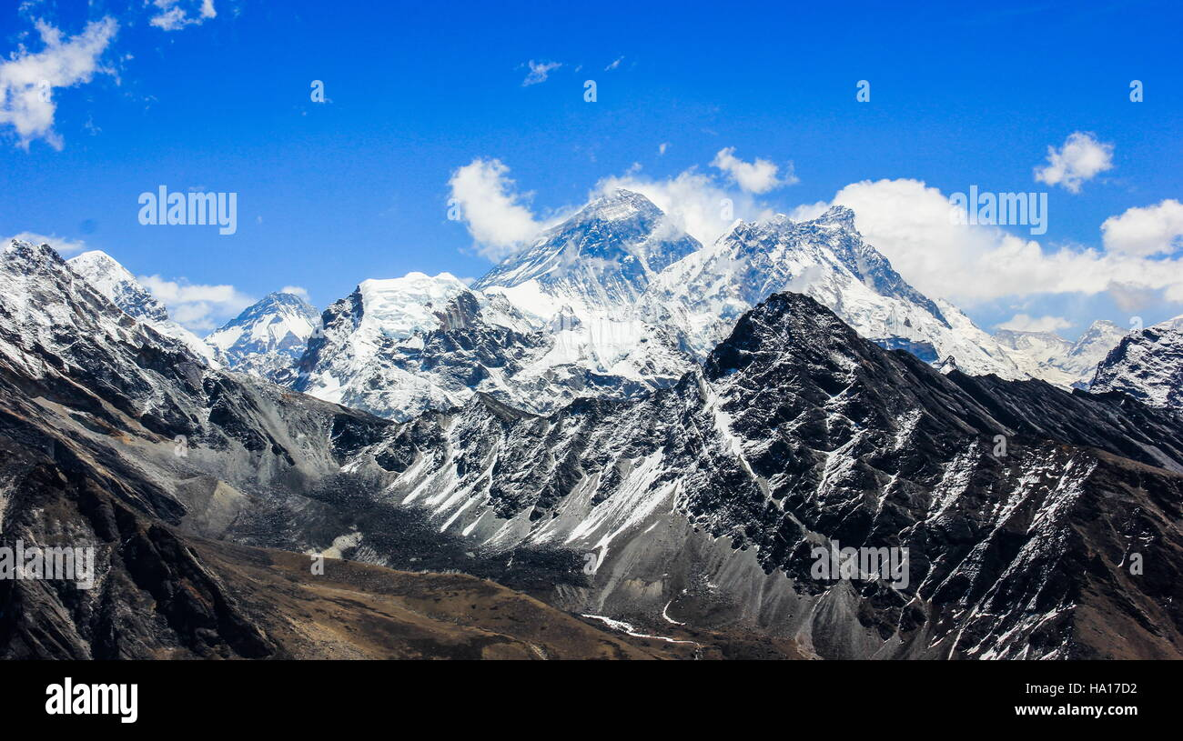 Everest. Himalayas. Nepal. - Stock Image