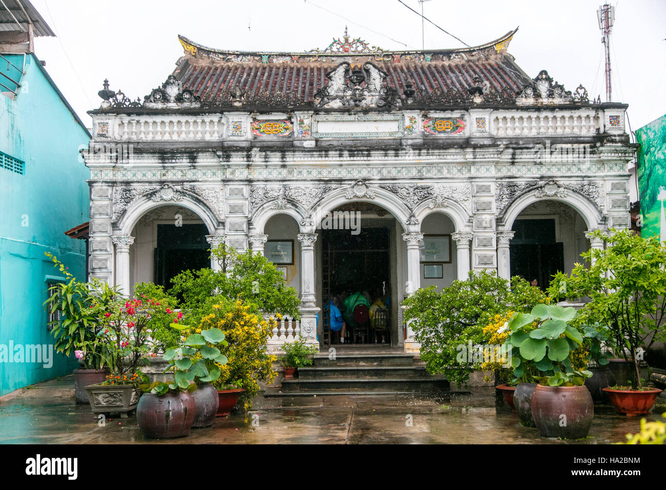 Huynh Thuy Le, Home of Marguerite Duras Lover, Sa Dec, Mekong River, Vietnam, Asia - Stock Image