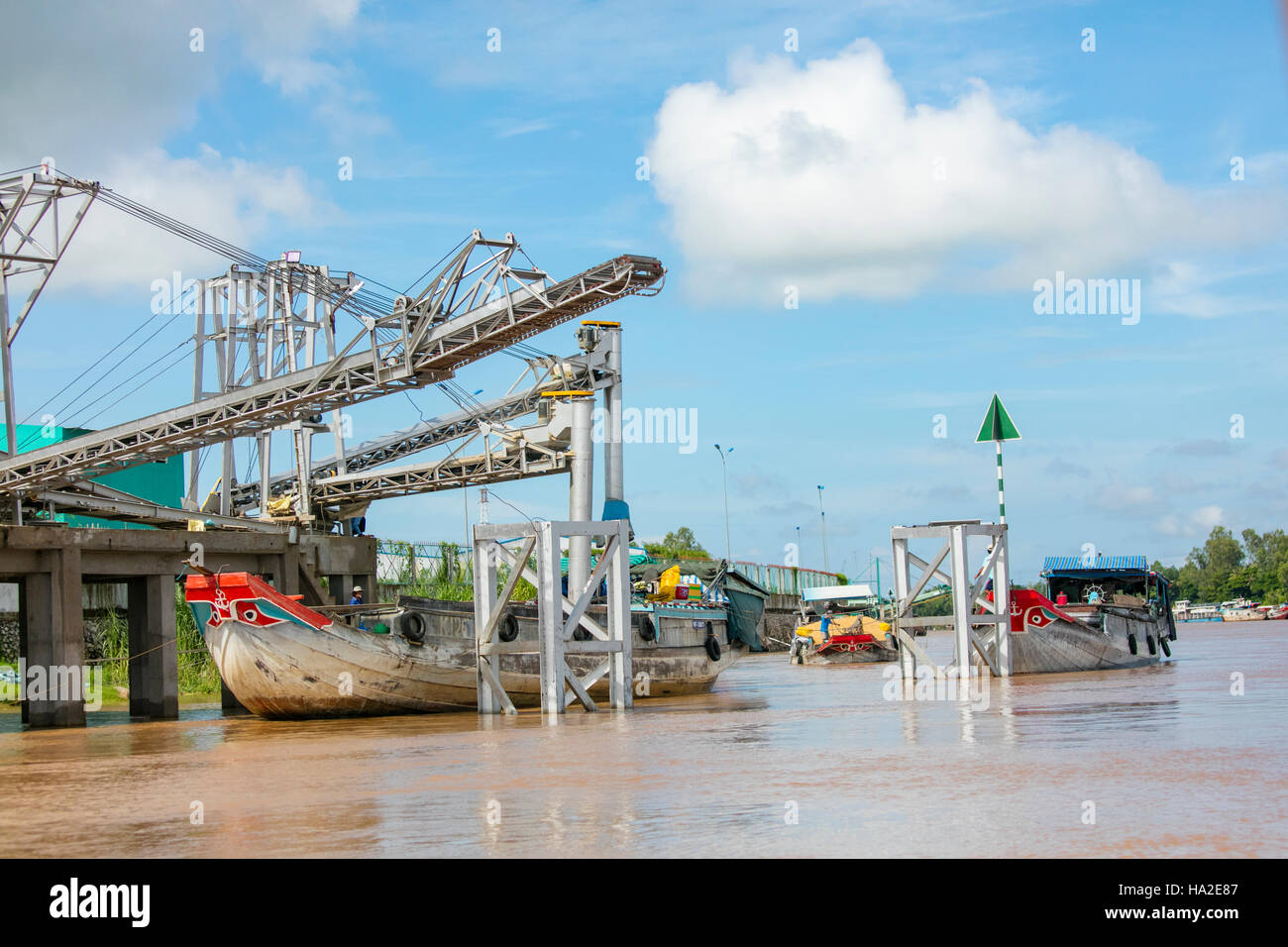 Chau Doc, Vietnam, Asia - Stock Image