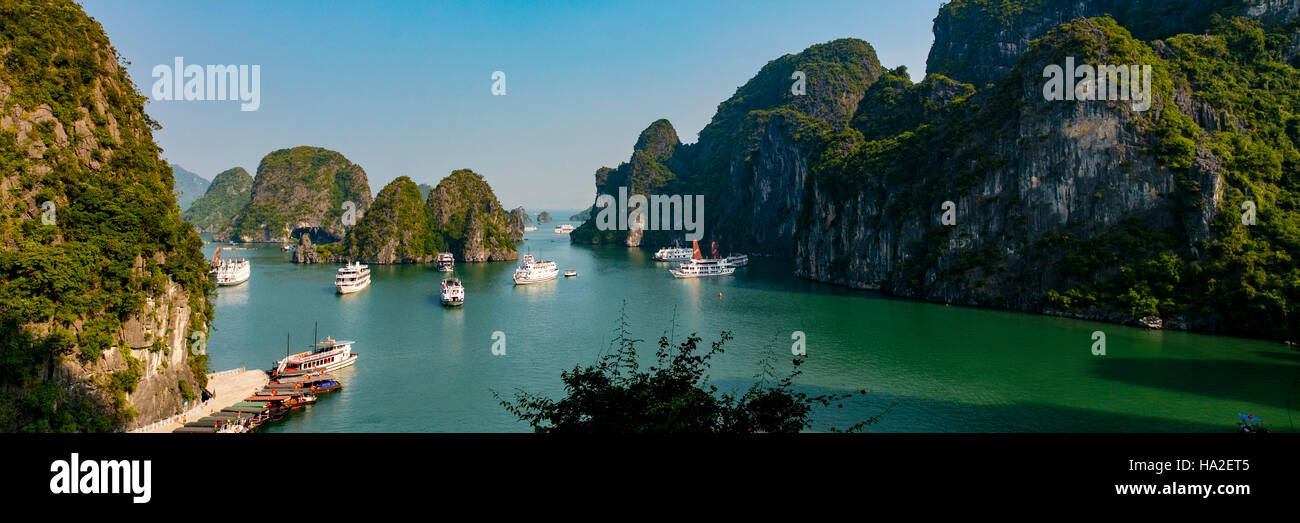 Halong Bay, Vietnam, Asia - Stock Image