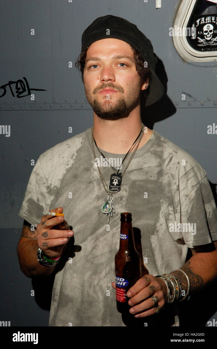 bam margera backstage portrait at the key club in hollywood ca