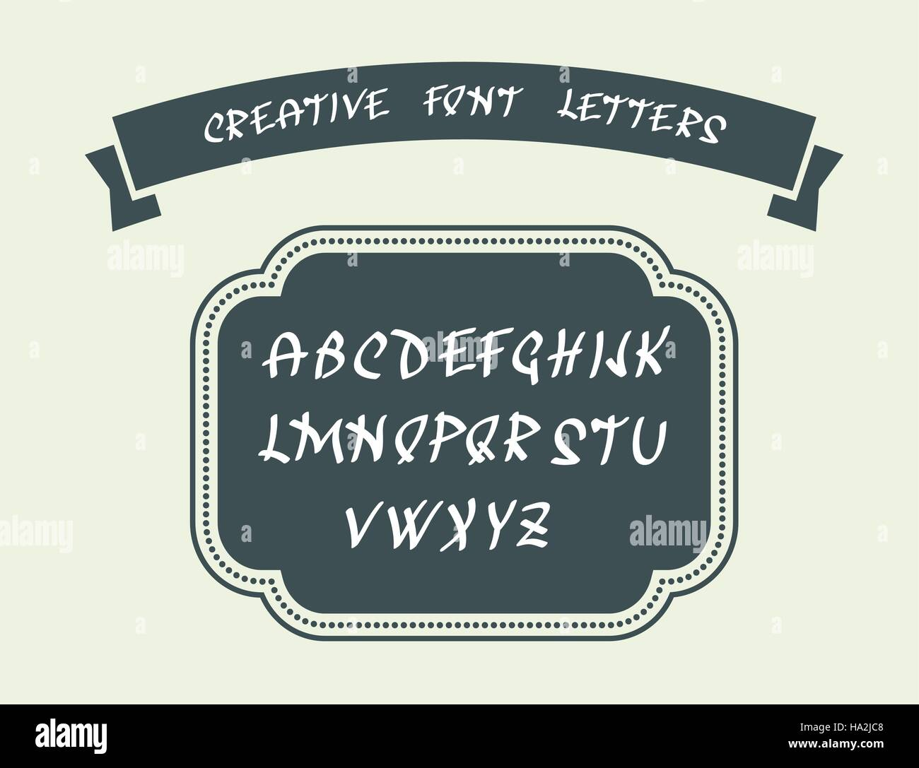 Uppercase English Alphabet Letters Handwritten Font Character Symbols Vector Illustration Creative For Your Design Ideas