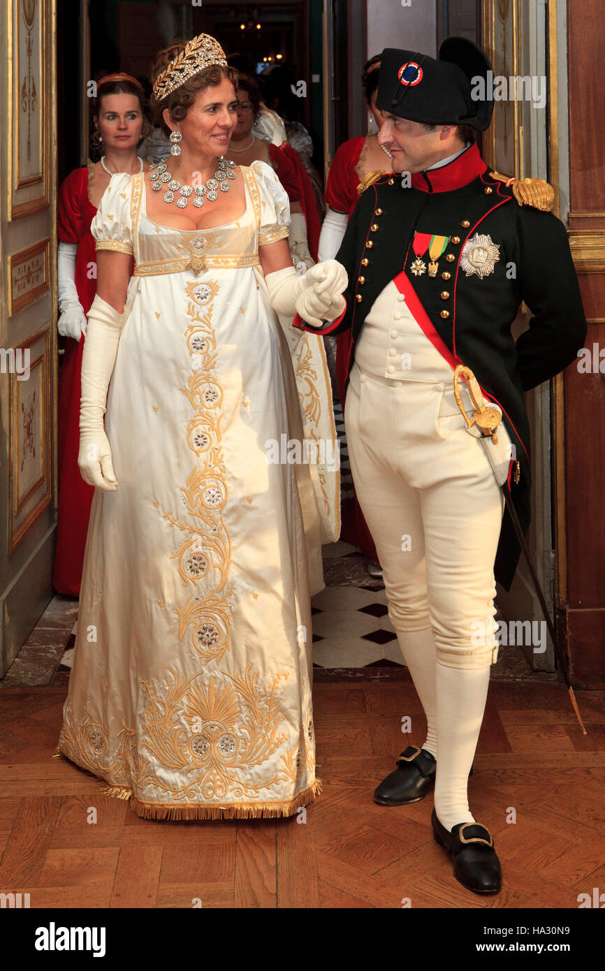 Napoleon Bonaparte (1769-1821) and Empress Joséphine de Beauharnais Stock  Photo - Alamy