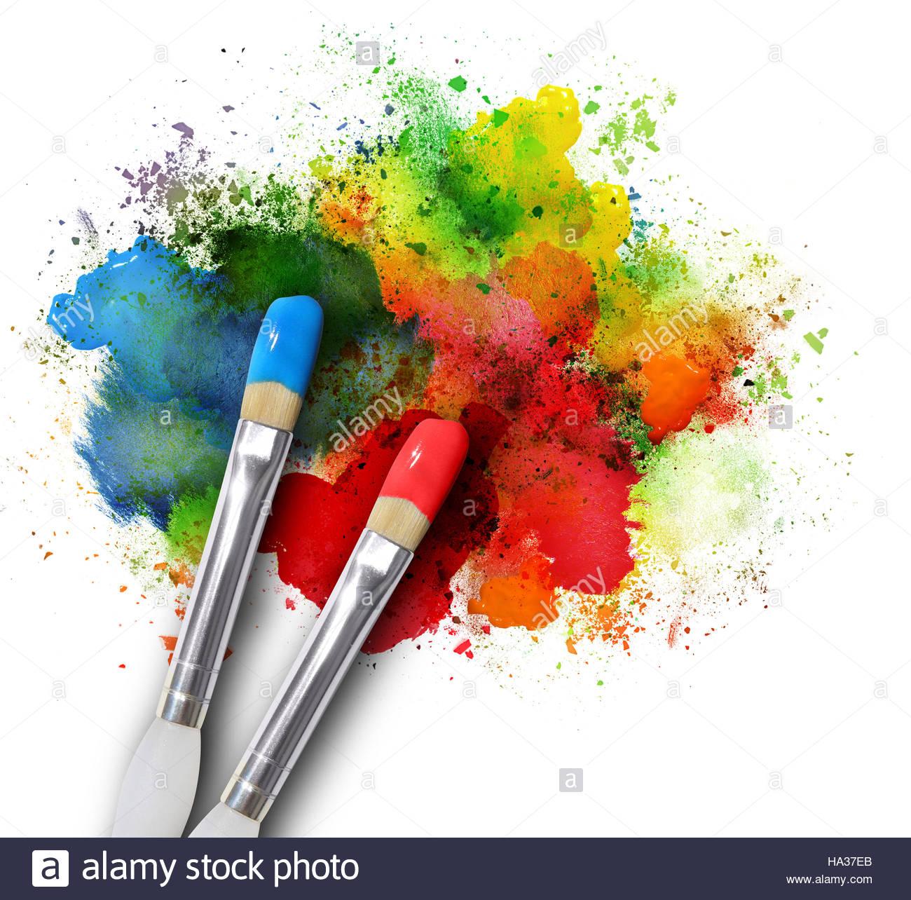 Paint Brush Grpahic
