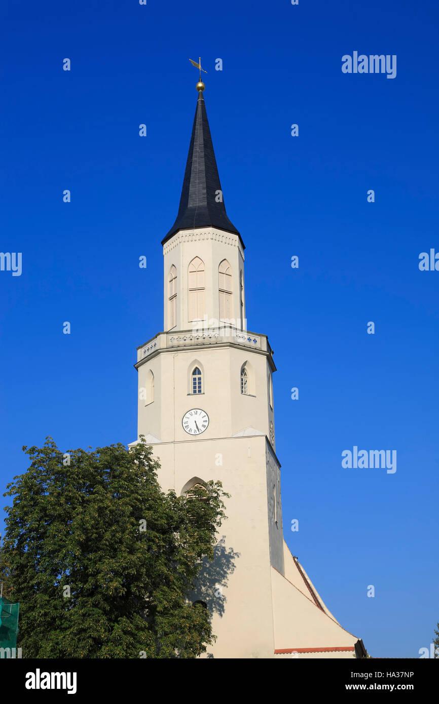 Nikolaikirche, Coswig / Elbe, Saxony-Anhalt, Germany, Europe - Stock Image